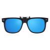[Супермаркет] Синий Jingdong его (Bluekiki) поляризованные солнцезащитные очки клип солнцезащитных очков для мужчин и женщин вождения зеркала очки клип очки клипа часть 30B модели ртуть