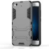 Серый Slim Robot Armor Kickstand Ударопрочный жесткий корпус из прочной резины для XIAOMI 5S