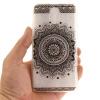 Черный Мандала шаблон Мягкий тонкий резиновый ТПУ Силиконовый чехол Гель для Lenovo Vibe P1M