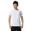 Патентный шаг (XTEP) T-рубашки мужские легкие дышащие случайные футболки 883129019007 флуоресцентный зеленый XL рубашки футболки для детей