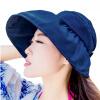 Ainingxue солнечная шляпа женщина летнее солнце шляпа дама наружная шляпа шляпа шляпа женские модели MZ11 военно-морской флот 2