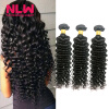 Bouncy Top Quality N.L.W. Products Brazilian Virgin Hair Deep Wave 3 Bundles 8A Unprocessed Free Shipping Full and Thick best new product on sale 30% 750ml brazilian keratin hair treatment hair free shipping