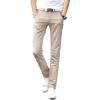 GEEDO повседневный брюки мужские льняные брюки брюки брюки длиной 2017 хаки 33 брюки