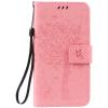 Pink Tree Design PU кожа флип крышку кошелек карты держатель чехол для HUAWEI Enjoy 5s