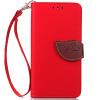 Красный Дизайн Кожа PU откидная крышка бумажника карты держатель чехол для HTC One A9 розовый дизайн кожа pu откидная крышка бумажника карты держатель чехол для htc one a9