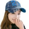 [Супермаркет] Jingdong ожесточенной Гданьск (шведская кроны) WMZ170741 бейсболка женщин корейской моды случайная денима крышка ковбойская шляпа с синими буквами