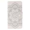 Белые цветы Дизайн PU кожа флип кошелек карты держатель чехол для SAMSUNG Galaxy J3/J3 2016 белые цветы дизайн pu кожа флип кошелек карты держатель чехол для samsung galaxy j1 2016 j120f