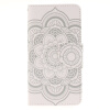 Белые цветы Дизайн PU кожа флип кошелек карты держатель чехол для SAMSUNG GALAXY Grand Prime G530