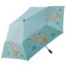 [6 внутрикостных очередь сложенный зонтик зонтик Jingdong супермаркет] Paradise бис седло скелет экранирующей сверхширокий винил солнечный зонт 53см × 6K 30222EJC Смарт олень # 3 Beige куплю очередь на мазду 3