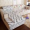 (FANROL) диван-циферблат четыре сезона диван комплекты коврики ткань шлифовальный диван туалетная крышка простой двухсторонний диван подушка костюм волшебное время 90 * 90 см