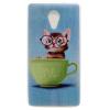 Очки кота Pattern Мягкий тонкий ТПУ Резиновая крышка силиконовый гель чехол для Wiko Robby очки кота pattern мягкий тонкий тпу резиновая крышка силиконовый гель чехол для iphone 6 plus 6s plus