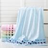 Китайский узел ZHONGGUOJIE полотенце текстильного волокна бамбука полотенце мягкого и гладкого абсорбент большого голубого 380га / бар 70x140 полотенце махровые лонгтвист efes 70x140 1159158