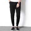 lucassa случайные брюки мужские случайные штаны шаровары случайные брюки спортивные мужские брюки Вэй черный XL K118