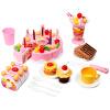 Мама и папа (babamama) Детский день рождения торт моделирование игры дома кухня игрушки 1-3 лет детские образовательные ребенка Подарочный набор B1005 Pink danniqite развивающие игрушки большие детские кубики 12 зодиакальных знаков года рождения 1 3 6 лет 160 кусков cdn 4138