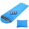 BeiJiLang спальный мешок открытый зимний взрослый теплый спальный мешок в пару два открытых кемпинга спальный мешок 1.8KG синий 301 спальный мешок