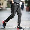 lucassa casual брюки мужские повседневные брюки гарем брюки спортивные брюки камуфляж случайные брюки мужской A100-K76 черный M