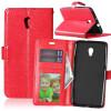 Red Style Classic Flip Cover с функцией подставки и слотом для кредитных карт для ZTE Blade V7 skinbox флип кейс zte blade x5