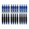 Музыка и многое другое Ohto CG-105OS1 пресс пулевых гелевая ручка | ручки | 0.5mm | черный | керамические бусины | 12 палочки