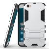 Серебряный Slim Robot Armor Kickstand Ударопрочный жесткий корпус из прочной резины для VIVO X9