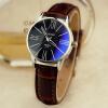 Я. Zhuolun Ши Ин смотреть новый леди часы женской пряжки штыря простой личность модели Круглого ремень мода женской форма YZL0536TH-2 Бизнес