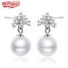Серебро Серебро слово сказать, 925 серебряные бусы серебряные серьги серебряные серьги элегантной моды