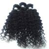 госс волосы завод оптовой цены Virgin перуанских кудрявые волосы 3 связки, 8а необработанные человеческие волосы ткать