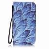 Blue Dazzle Дизайн PU кожа флип Обложка Кошелек для карты памяти чехол для Samsung Galaxy S5/G9006V promate tava s5 чехол для samsung galaxy s5 blue