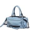 Nau (NAWO) женская сумка повязка воловья кожаная сумка сумка Boston сумка простой плеча Сумка NW1162352 синий сумка женская