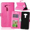 Розовая красная классическая флип-обложка с функцией подставки и слотом для кредитных карт для Asus Zenfone 3 Deluxe ZS570KL смартфон asus zenfone 3 deluxe zs570kl 64gb gold 2g008ru