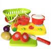 Мама и ребенок (бабамама) игрушки для моделирования фруктов и овощей имеют детей дома детские игрушки для головоломки с корзинами 9 комплектов B1010 игрушки для детей