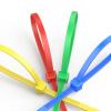 Shanze (SAMZHE) 2.5 * 100мм ZD-17 профессиональный самоблокирующийся нейлоновый кабель более прочный жгут проводов лента многофункциональный ремень галстук шелк прозрачный галстук 20 лента шелк 100