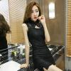Luo Manxi ночной клуб королева платье сексуальное приманка сексуальное нижнее белье взрослые принадлежности черный pinxian сексуальное женское нижнее белье трусы секс стринги с принтом леопард