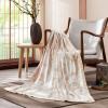 LOVO 罗莱生活出品 卡希利亚竹纤维提花毯150*200cm 把生活过成最美的诗句