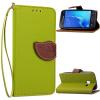 Зеленый дизайн Кожа PU откидная крышка бумажника карты держатель чехол для Samsung Galaxy J1 Mini зеленый одуванчик дизайн кожа pu откидная крышка бумажника карты держатель чехол для samsung galaxy core prime g360