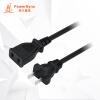 (PowerSync) MPCNKH0150 удлинительный шнур питания 2 штекерный штекер для женщин для аккумулятора дисплей автомобиля бытовая техника расширенный черный 15 метров