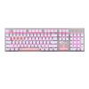AKKO AKS механическая клавиатура 104 клавишы полностью клавиатура Игровая клавиатура подсветка-источник света розово-белый cilek стул cilek fiyonklu арт aks 8423