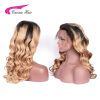 Carina Hair Full Lace Human Hair Wigs With Baby Hair Brazilian Remy Hair Pre Plucked Natural Hairline 1b 27 Color wholesale price new fashion womens girls natural color long hair human full wigs with baby hair