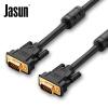 (JASUN) vga3+6 кабель проектора соединительная линия чёрный кабель dinon vga dv15mm dv15mm