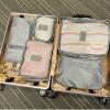 Liz мешочек 6 комплектов водонепроницаемого путешествия прием путевки размещение синего юбка liz lisa