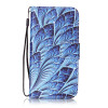 Blue Dazzle Дизайн PU кожа флип Обложка Кошелек для карты памяти чехол для Lenovo K5/K900 зарядное устройство для lenovo k900