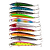 MyMei New Mixed Assorted Sea Fishing Lures Crankbait Hooks Minnow Baits Rig Jig Tackle 10pcs minnow lures 115mm 11 2g fishing lure bait saltwater trolling fishing plastic hard baits