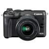 Canon (Canon) EOS М6 (15-45) микро-сменный объектив цифровой камеры черный ismartdigi lp e6 7 4v 1800mah lithium battery for canon eos 60d eos 5d mark ii eos 7d