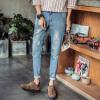 lucassa джинсы мужские брюки брюки талия джинсы мужской A406-312 светло-голубой 29
