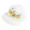 [Супермаркет] Jingdong Siggi SI88354 шляпа женщина летний корейский приливной плоский вдоль бейсболки моды мужской хип-хоп шляпа козырек крышки спорта крышка белого 57-59CM