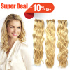 Free Shipping #613 Lightest Blonde Weave Natural Curly 100% Brazilian Remy Hair Weave Virgin Human Hair Extensions free shipping 20 1001 613 lightest blonde heavy density curly fashion women s lace front synthetic hair wig w03