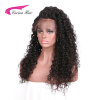 Carina Hair 180 Density Deep Curly Full lace Human Hair Wigs Brazilian Remy Hair Pre Plucked Natural Color brazilian deep curly full lace human