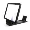 MyMei 3D Enlarge Screen HD Movie Video Phone Holder Stand Magnifier Folding Amplifier новый складной 3 кратный зум увеличительное стекло сотовый телефон экран hd усилитель для кино 3d