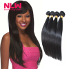 Bouncy Top Quality N.L.W. Products Brazilian Virgin Hair Straight 4 Bundles 8A Unprocessed Free Shipping Full and Thick free shipping 4 4 size 430c pernambuco cello bow high quality ebony frog with shield pattern white hair violin parts accessories