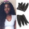 YYONG Продукты для волос Индийская глубокая волна 4шт Индийская глубокая волна Натуральные волосы для волос Народы индийских волос для волос