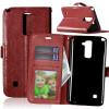 Браун Стиль Классический Флип Обложка с функцией подставки и слот для кредитных карт для LG Stylus 2 Plus/LG Stylo 2 Plus сотовый телефон lg stylus 3 m400dy